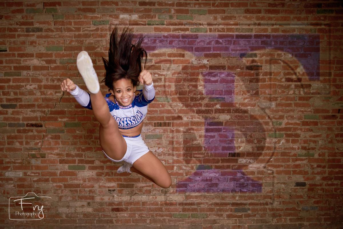Activities like Cheerleading are perfect for pictures.